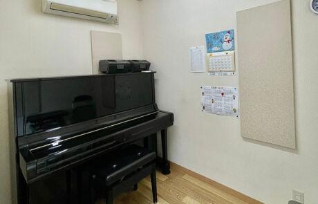 北バイパスセンター_個人部屋(アップライトピアノ)
